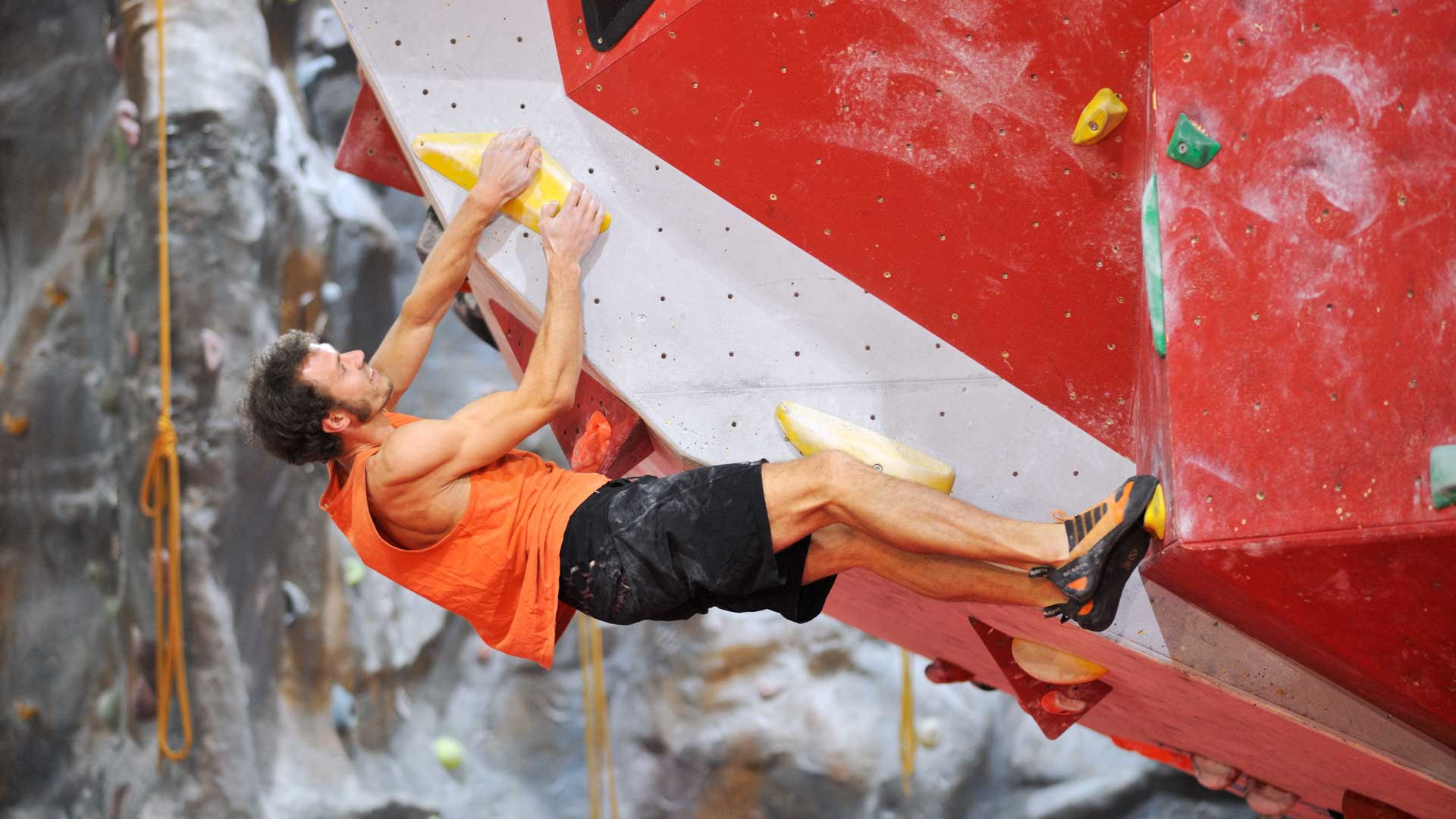indy climbing wall bouldering