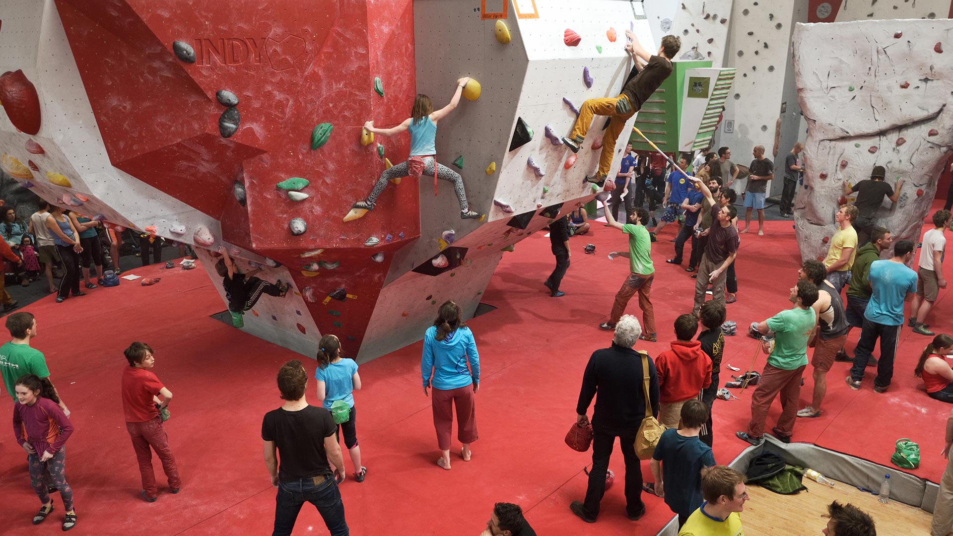 north wales indoor climbing